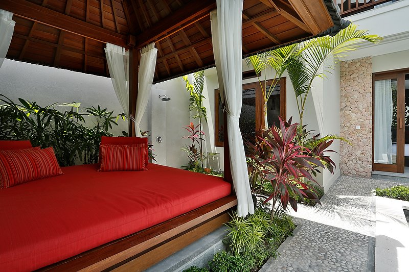 Bali Villa Outdoor backyard
