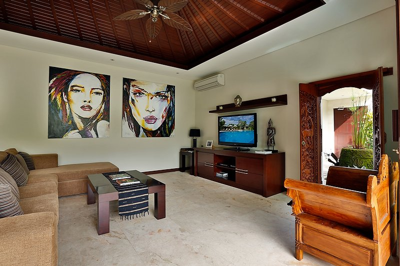 Bali Villa indoor living room
