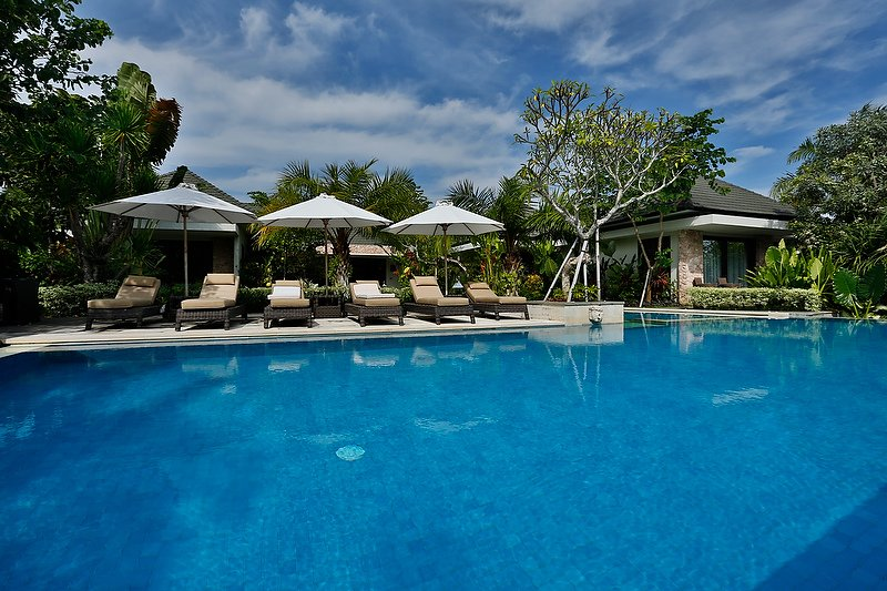 Bali Villa Outdoor Pool area