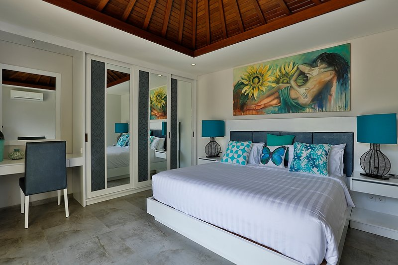 Bali Villa Bedroom setting