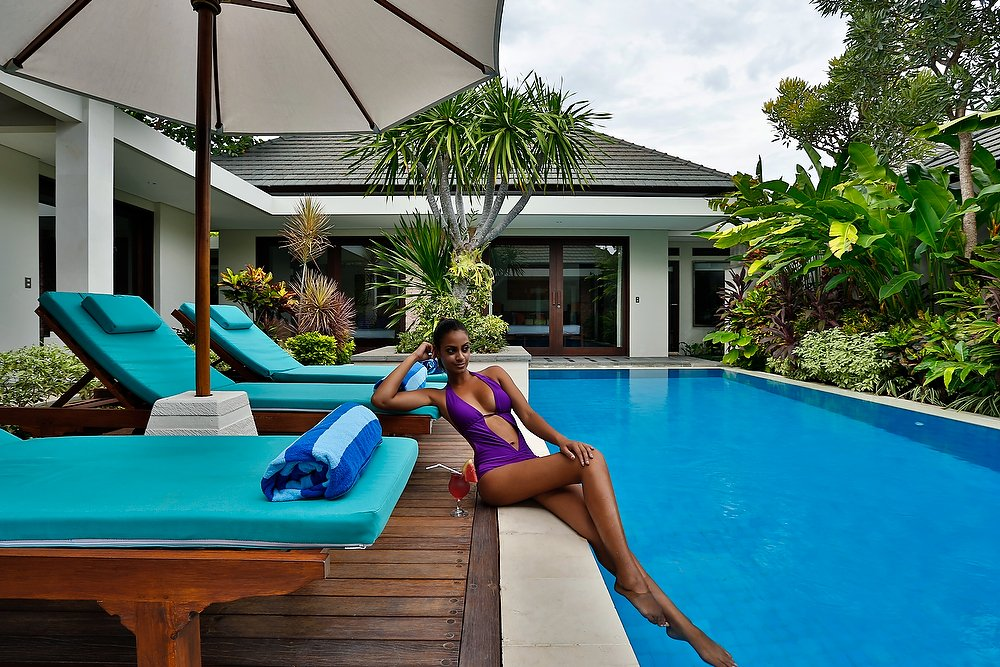 Property Villa Bali Sanur Model by the Pool