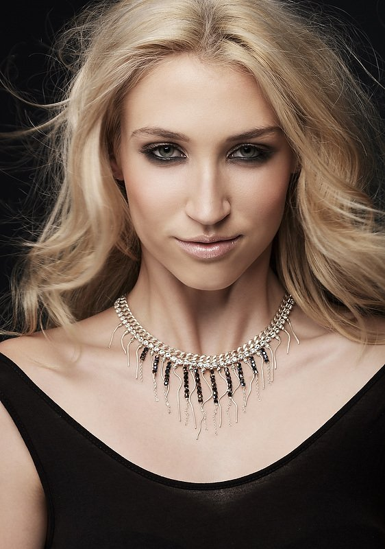Jewellery Campaign Female Model