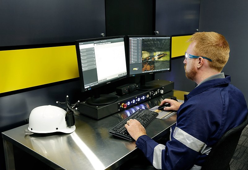 Immersive Technologies Australia Mining Equipment Simulator