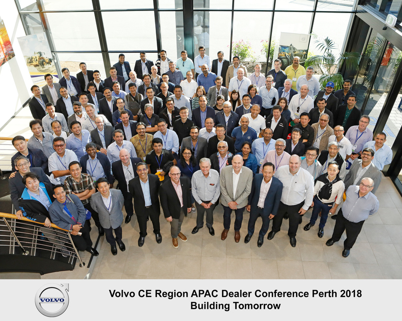 Group Shot Volvo Meeting 2018