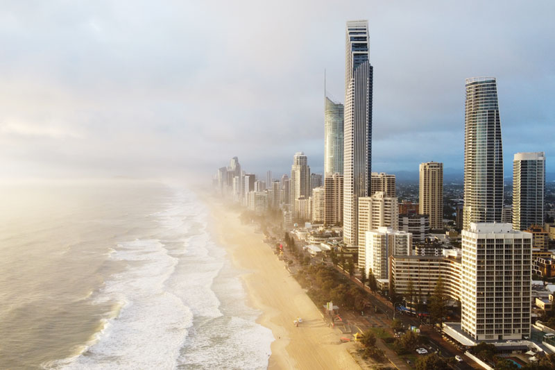 Drone Gold Coast City