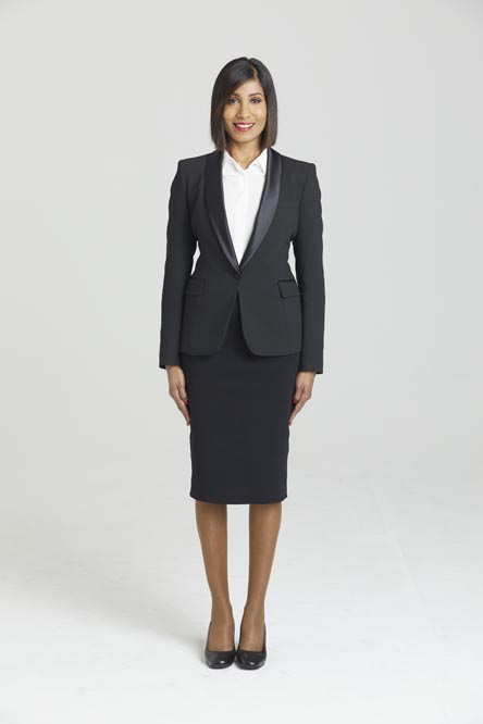 cabin crew female full body